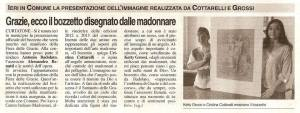 Poster presentation to the International Meeting to Madonnari in Grazie di Curtatone