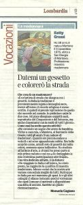 16 settembre 2014 -Article on my passion!