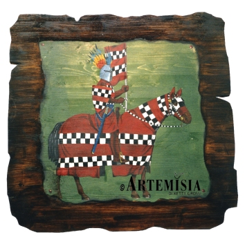 Acrylic on wood.