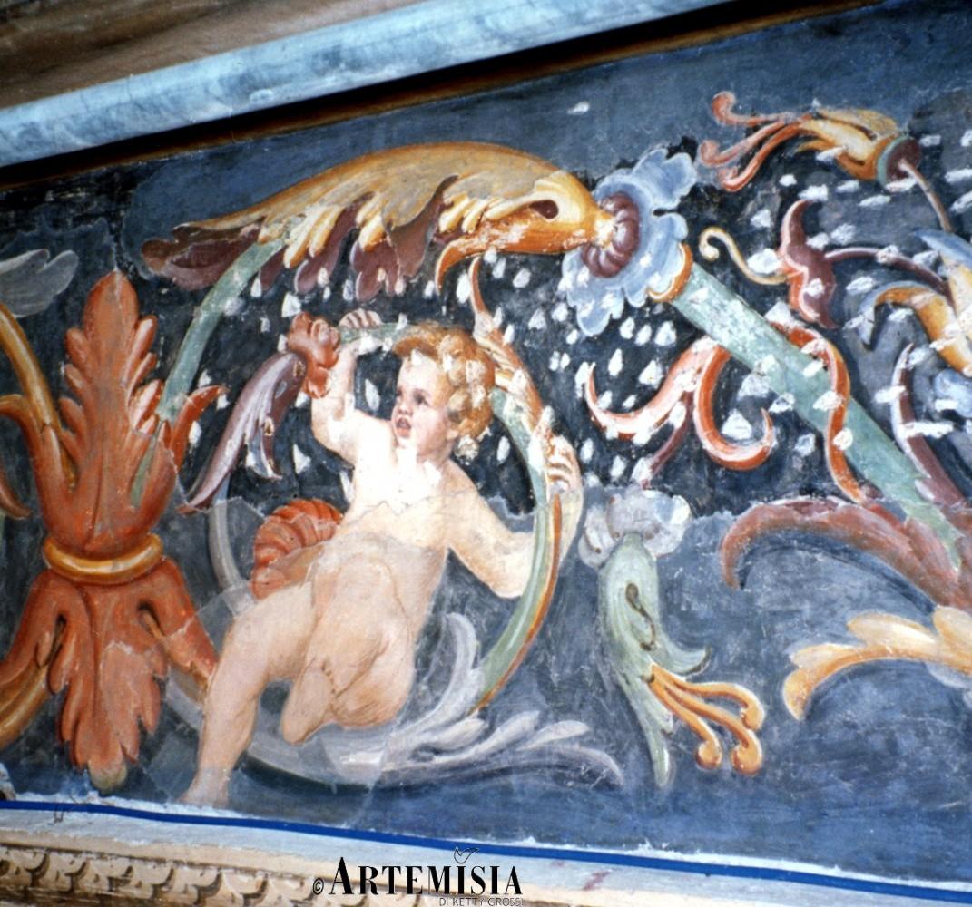 Decoration Fresco, in Santa Maria delle Grazie - Grazie -MN