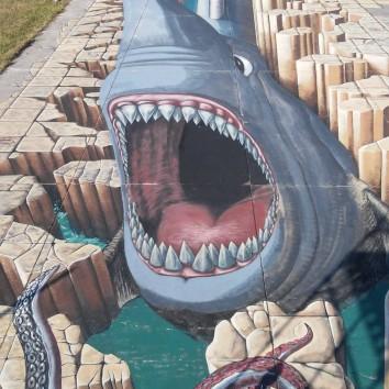 Megalodon Shark measuring 22,747.6 square feet - Guinnes World Record