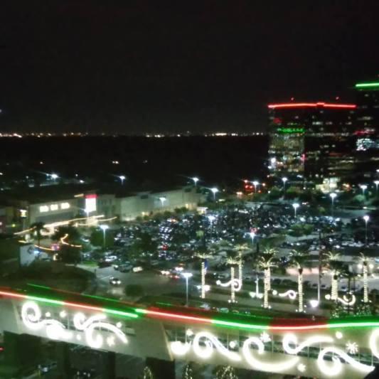 Houston in the night.