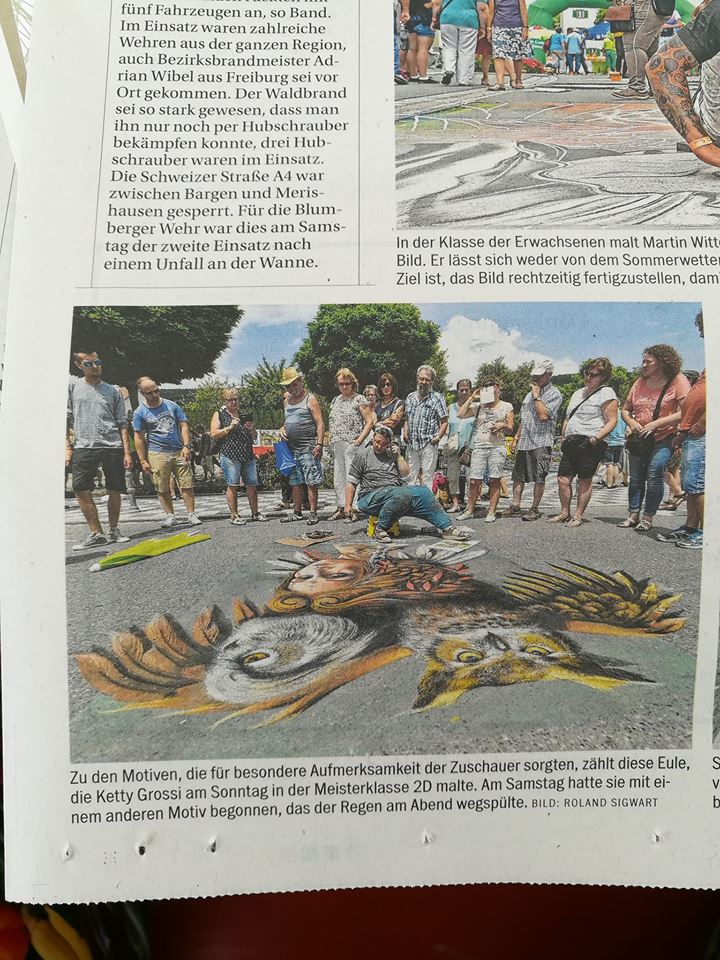 Article on Sűdkurier - Blumberg