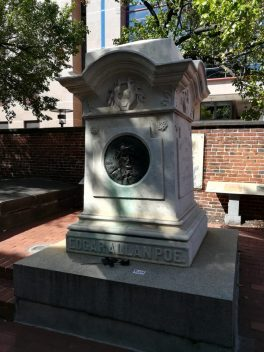 Tomb of Edgar Alla Poe